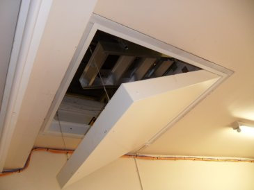 Image of a loft hatch