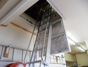 Image of loft ladder and hatch